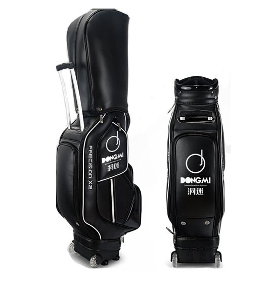 洞迷高尔夫球包DMQB001-B 高尔夫球包PU/球杆包 黑色