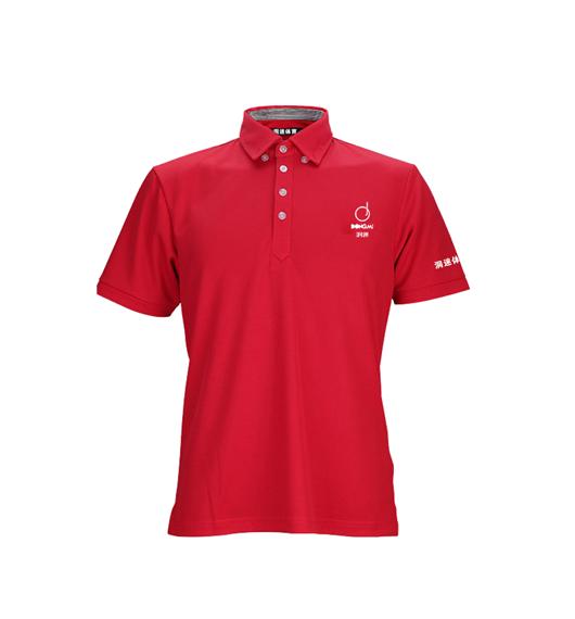新款洞迷高尔夫服饰男士休闲运动短袖 DMFS002-BB红色