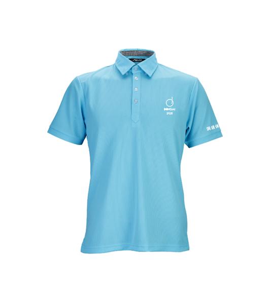 新款洞迷高尔夫服饰男士休闲运动短袖 DMFS002-BC 蓝色