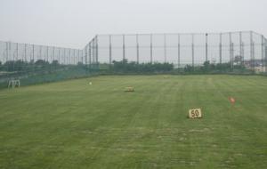 天津松江团泊湖高尔夫俱乐部练习场