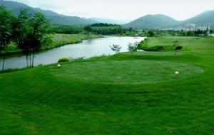 安徽宣城白马山庄高尔夫练习场