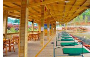 福建三明泰宁金湖湾度假村水上高尔夫练习场