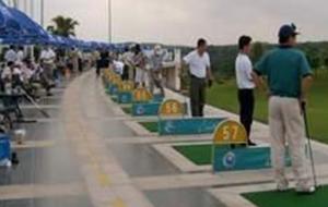 广西南宁青秀山高尔夫练习场