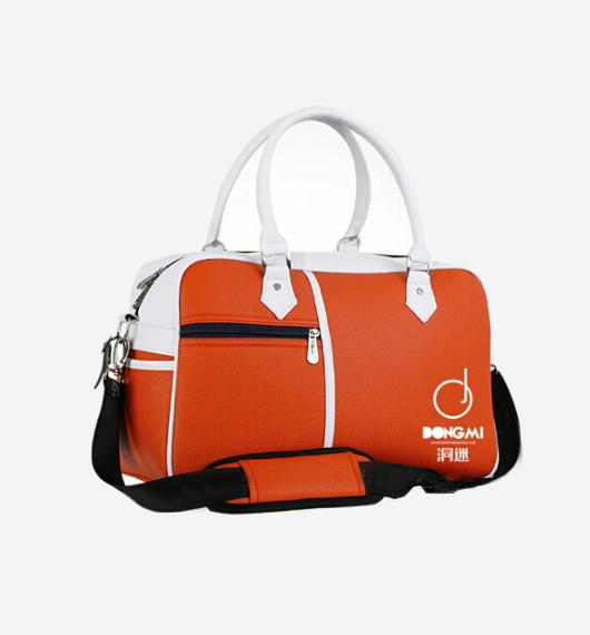 洞迷高尔夫衣物包YWB001- D 大容量手提单肩背包 男女通用 橙色