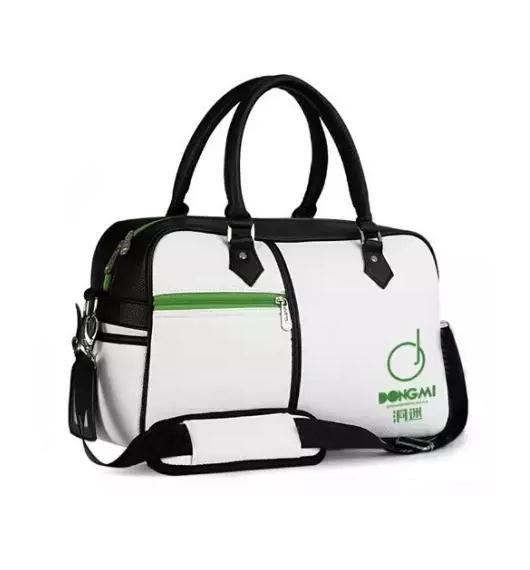 洞迷高尔夫衣物包YWB001- C 大容量手提单肩背包 男女通用 经典白色