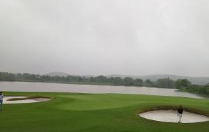 山东济南黄金崮云湖国际高尔夫球场