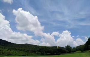 广东珠海翠湖高尔夫球场