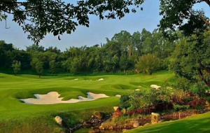 广西桂林乐满地高尔夫球场