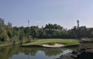 海南海垦七仙岭国际高尔夫球场