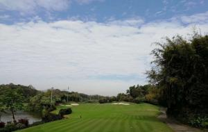 云南昆明乡村高尔夫球场