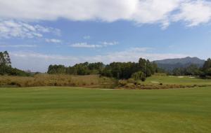 陕西榆林大漠绿淘沙高尔夫球场