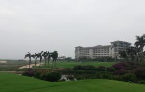 广东阳江保利银滩高尔夫球场
