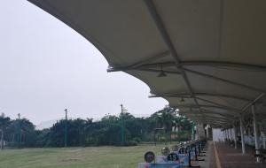 广东阳江保利银滩高尔夫练习场